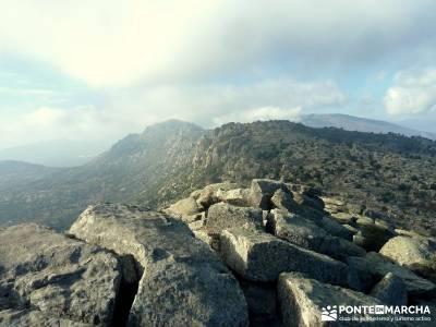 Sierra de la Cabrera - Pico de la Miel; senderismo fin de semana